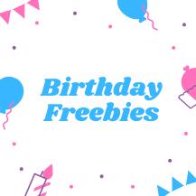 Pink Purple Balloons Birthday Instagram Post